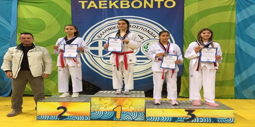 Μετάλλια και καλές εμφανίσεις οι αθλήτριες του ΑΟΓ Τάεκβοντο Αλεξανδρούπολης