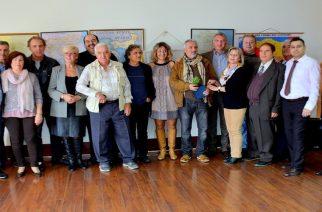 Οι Σουφλιώτες της Αθήνας τίμησαν για την προσφορά τους Τσαρούχα, Κιουρτίδη, Γκουβέντα