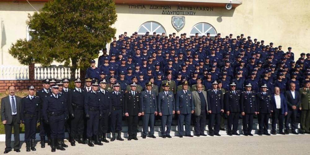 Ορκίστηκαν σήμερα 196 Δόκιμοι Αστυφύλακες στη Σχολή Αστυφυλάκων Διδυμοτείχου