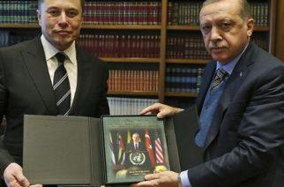 """Προσπαθεί να """"κλέψει"""" τον αμερικανικό κολοσσό Tesla από την Ελλάδα και τον Έβρο ο Ερντογάν"""