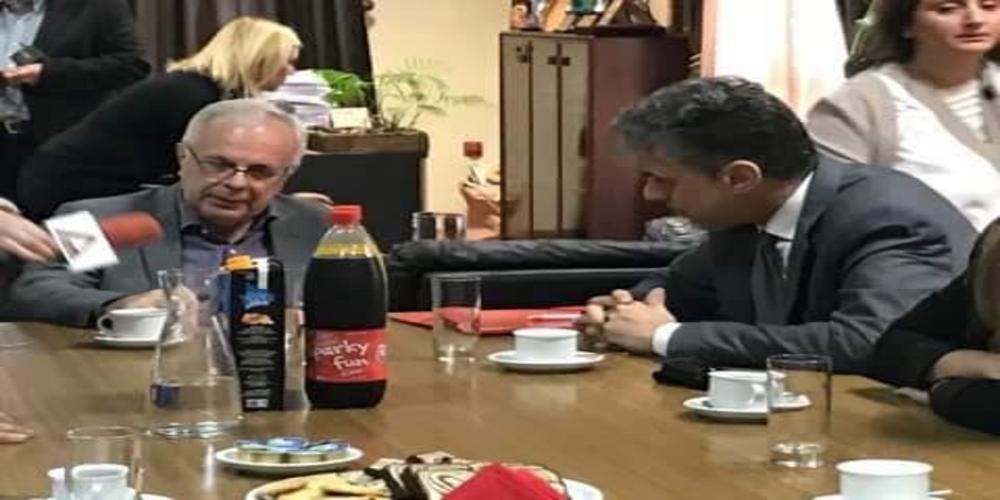 Ορεστιάδα: Σημαντικά θέματα έθεσε στον υπουργό Βαγγέλη Αποστόλου ο δήμαρχος Βασίλης Μαυρίδης
