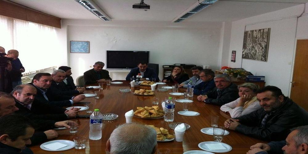 Επίσκεψη στην Ορεστιάδα και το Εργοστάσιο Ζάχαρης του Αναπληρωτή Υπουργού Οικονομίας Αλέξη Χαρίτση
