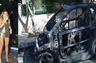 Έκαψαν το αυτοκίνητο της Αλεξανδρουπολίτισσας τραγουδίστριας Ελένης Χατζίδου (video+φωτό)