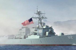 Αμερικανικό πλοίο ήρθε και φόρτωσε ελικόπτερα, οχήματα την Κυριακή και έφυγε για Ισπανία