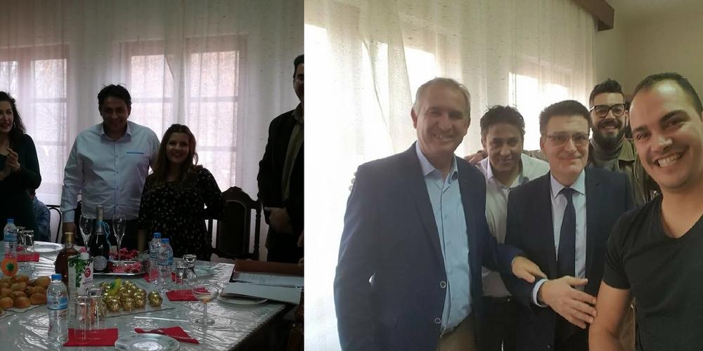 Παντρεύτηκε παρουσία των φίλων του Πέτροβιτς, Βενετίδη ο Πρόεδρος του Πυθίου με πολιτικό γάμο