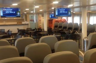 ΣΑΟΝΗΣΟΣ: Video από την επιθεώρηση του γερανού και το εσωτερικό του πλοίου