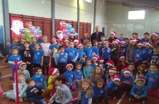 Με πολλά… στιβικά χαμόγελα η Χριστουγεννιάτικη γιορτή του ΜΓΣ Εθνικού Αλεξ/πολης