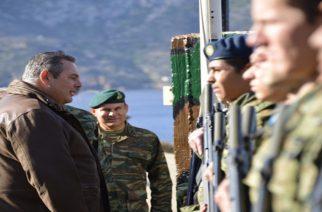 Νέες υποσχέσεις Καμμένου: Στόχος κάθε στρατιωτικός να έχει σπίτι σε Έβρο και νησιά