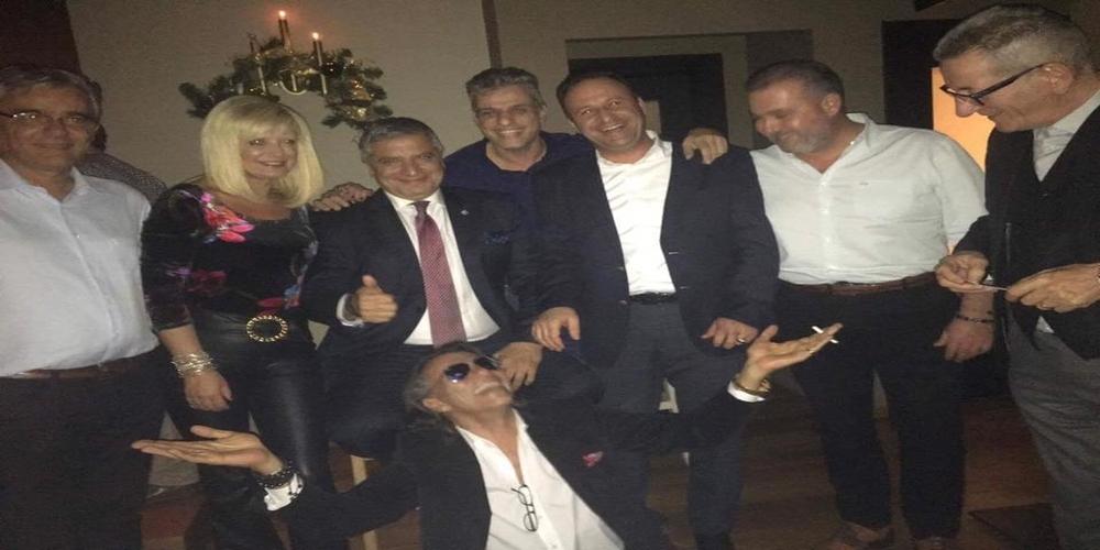 Όταν ο δήμαρχος Βασίλης Μαυρίδης συνάντησε την… Πατούλαινα, Ψινάκη και Πατούλη
