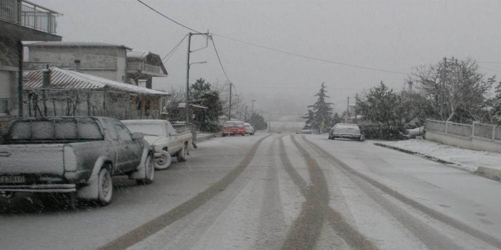 Έρχονται χιόνια στον Έβρο ακόμα και σε υψόμετρο 50 μέτρων. ΔΕΙΤΕ τους χάρτες