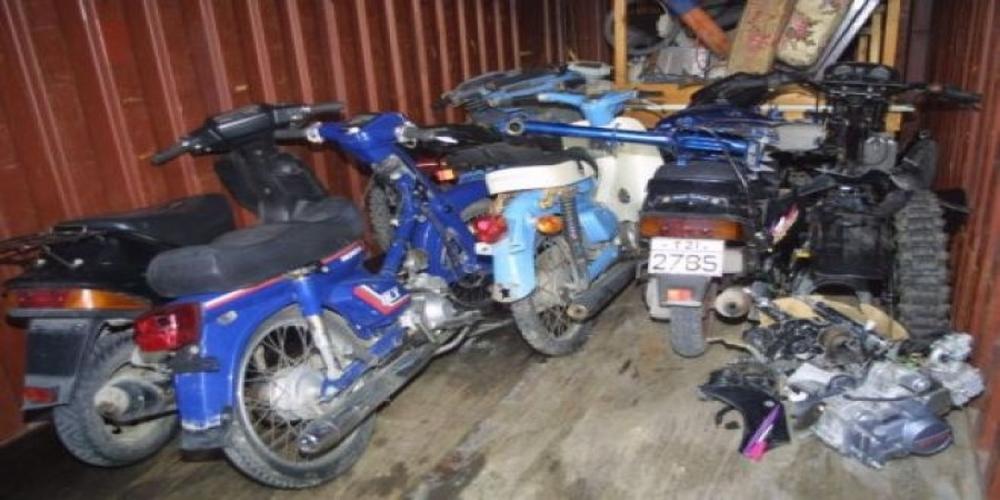 Συνελήφθησαν δυο νεαροί που είχαν κλέψει 13 μηχανάκια  τον Δεκέμβριο στην Αλεξανδρούπολη