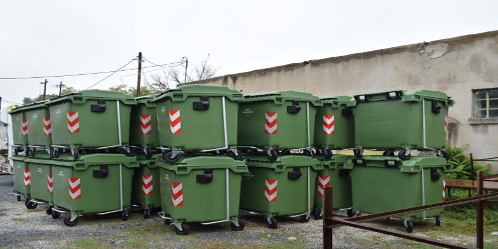 Δήμος Αλεξανδρούπολης: Προμήθεια 425 νέων πλαστικών και μεταλλικών κάδων απορριμάτων