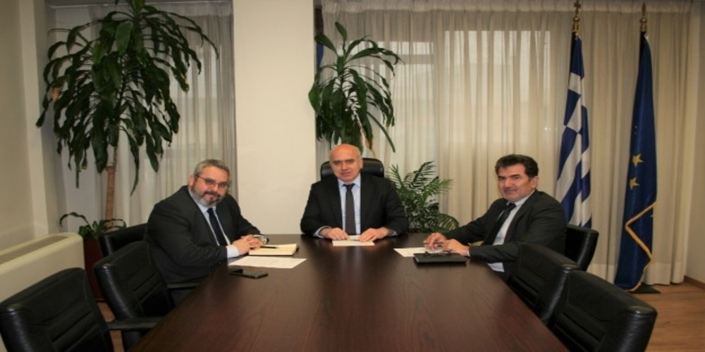 ΤΩΡΑ: Συνάντηση των Προέδρων Συνεταιριστικών Τραπεζών Έβρου, Δράμας με Περιφερειάρχη Χρήστο Μέτιο