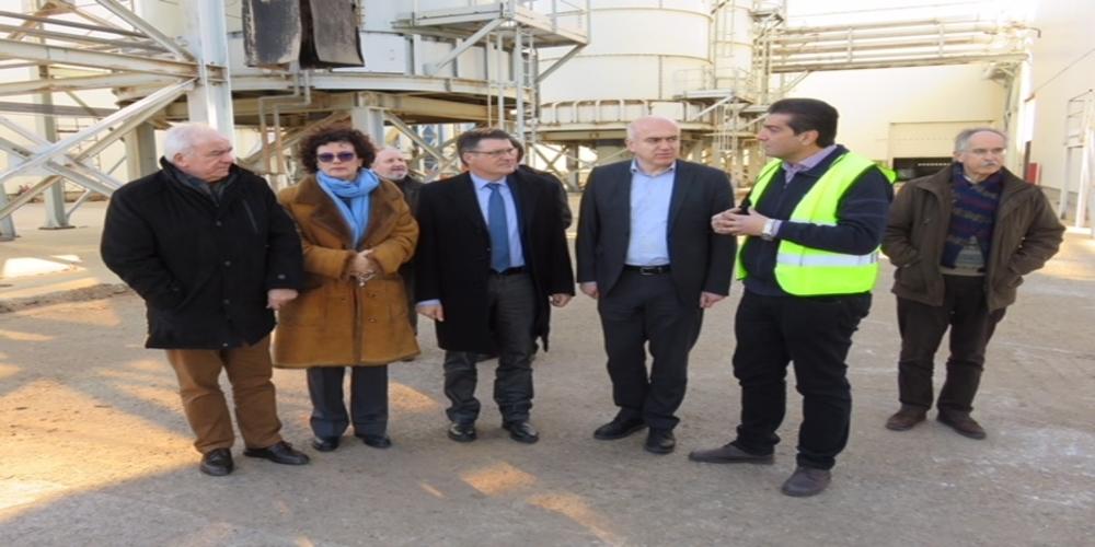 Το εργοστάσιο της κορυφαίας βιομηχανίας ξύλου AKRITAS επισκέφθηκαν Μέτιος, Πέτροβιτς