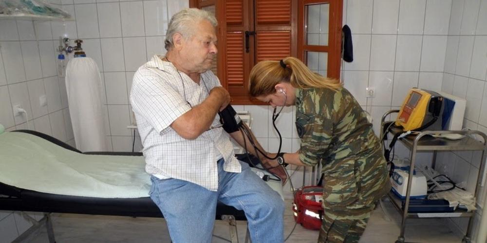 Στρατιωτικό Ιατρικό κλιμάκιο για δωρεάν εξετάσεις στο Νεοχώρι Ορεστιάδας
