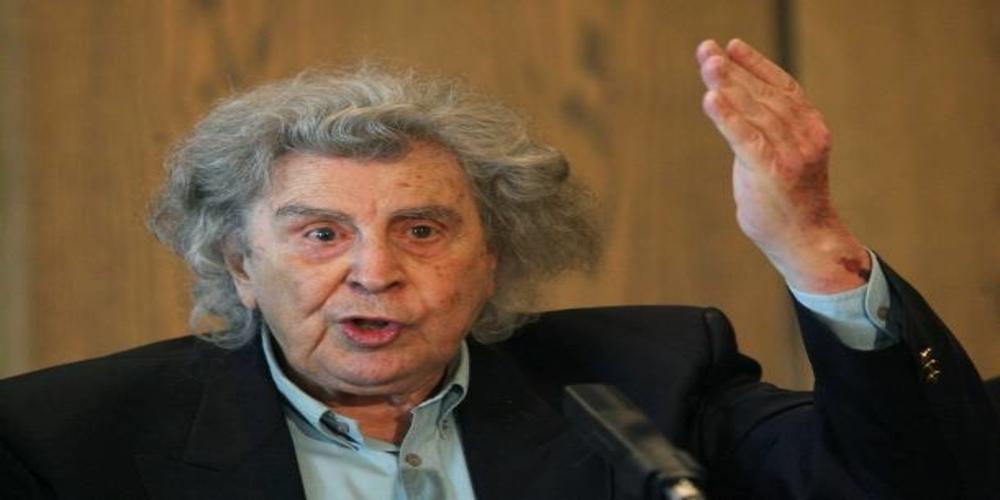 Παρέμβαση Μίκη για Σκοπιανό: Αν περιέχεται ο όρος Μακεδονία θα είναι καταστροφικό