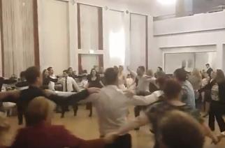 Σήκωσαν… στο πόδι την Στουτγκάρδη οι Θρακιώτες στην αλλαγή του χρόνου(video+φωτό)