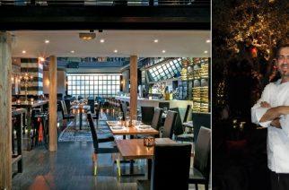 """Ο Εβρίτης σεφ Κώστας Τερζούδης με γεύσεις του τόπου μας εντυπωσιάζει στο αθηναϊκό """"SAH"""""""
