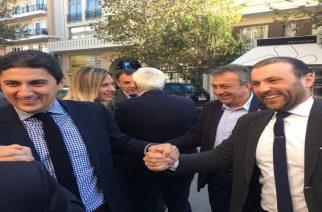 Συνωστισμός υποψηφίων για το ψηφοδέλτιο, στην πίτα της ΝΟΔΕ Έβρου παρουσία Αυγενάκη