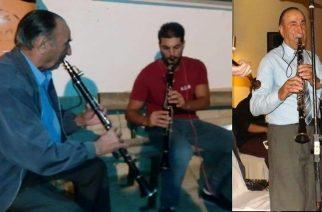 Οι παραδοσιακοί μουσικοί του Έβρου αποχαιρετούν τον δεξιοτέχνη του κλαρίνου Απόστολο Μποζατζίδη