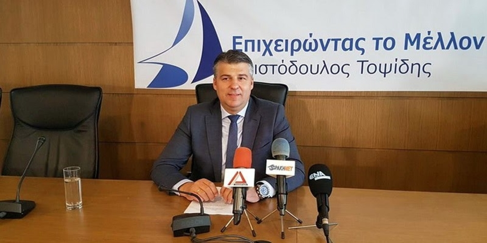 Πάει για… Περιφερειάρχης ο Πρόεδρος του Επιμελητηρίου Έβρου Χριστόδουλος Τοψίδης