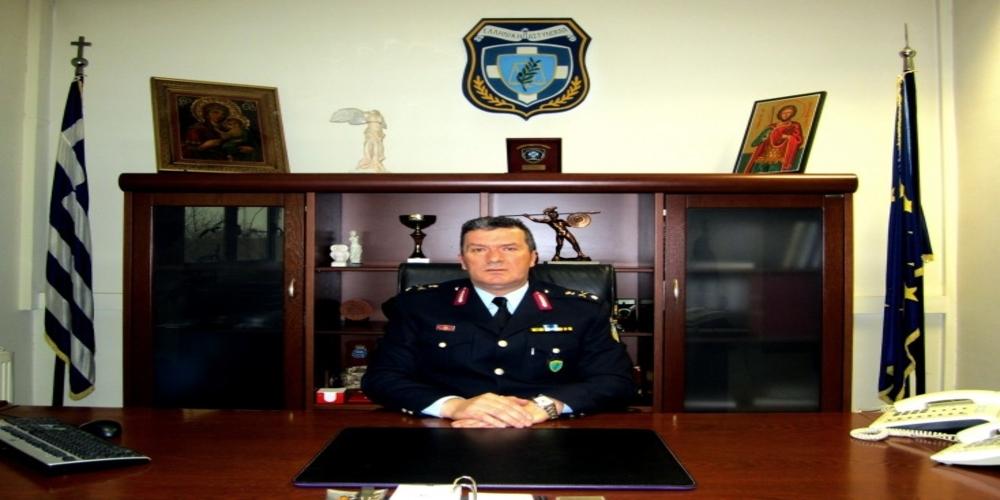 Παρέμεινε Υποστράτηγος και Γενικός Περιφερειακός Αστυνομικός Διευθυντής Ανατολικής Μακεδονίας-Θράκης ο Εβρίτης Νικόλαος Μενεξίδης