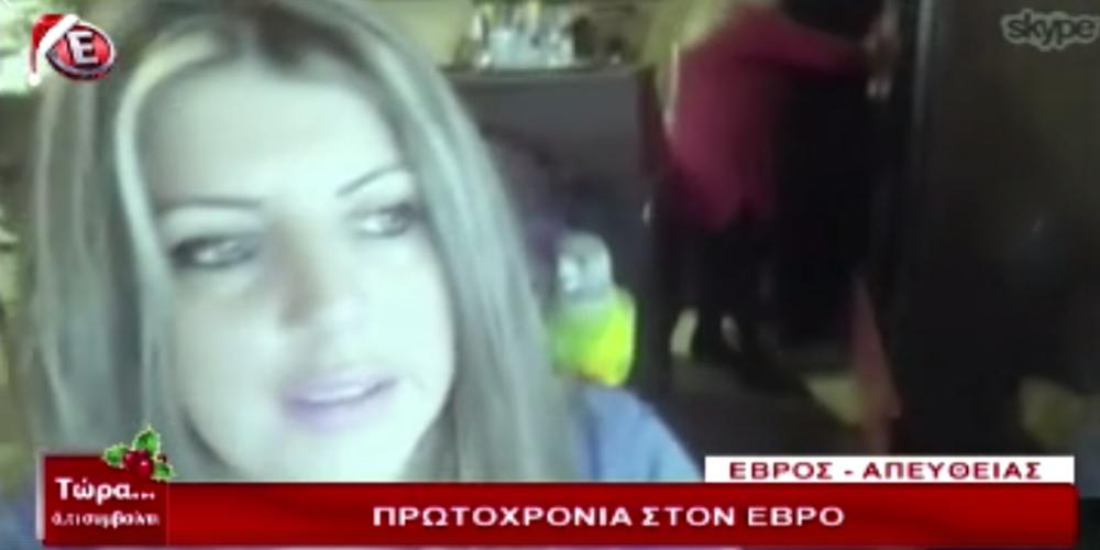 """Η όμορφη Βάσω που παράτησε την Αθήνα για τα Μαράσια Ορεστιάδας στο κανάλι """"Ε"""""""