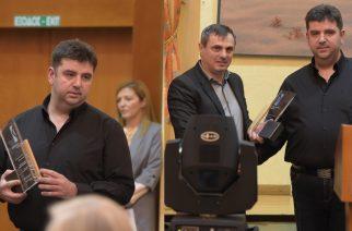 """Καβουρμάς Δελιντζή: Βραβείο Ανάδειξης Θρακιώτικου Προϊόντος"""" απ' το Επιμελητήριο Έβρου για το ρεκόρ Γκίνες"""