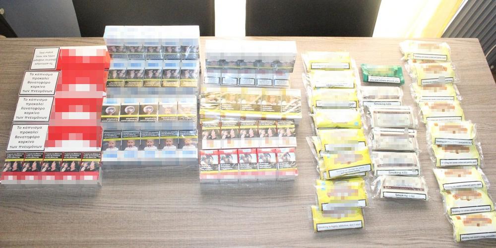 Αλεξανδρούπολη: Η αστυνομία έβαλε τέρμα στην ελληνοαρμενική… συνεργασία σε πώληση λαθραίων τσιγάρων και καπνού