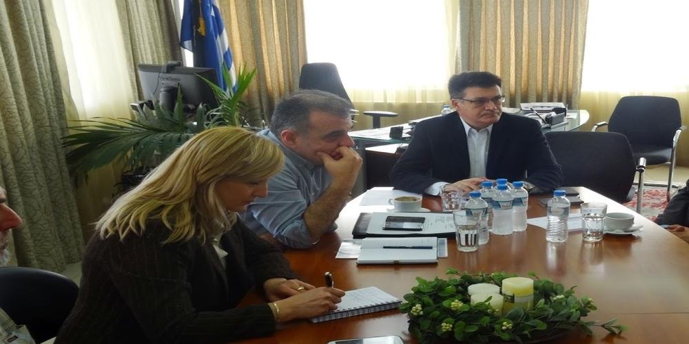"""Συνάντηση Αντιπεριφερειάρχη Δ.Πέτροβιτς με το δήμαρχο Θανάση Βίτσα. """"Η Σαμοθράκη είναι προτεραιότητα μας"""""""
