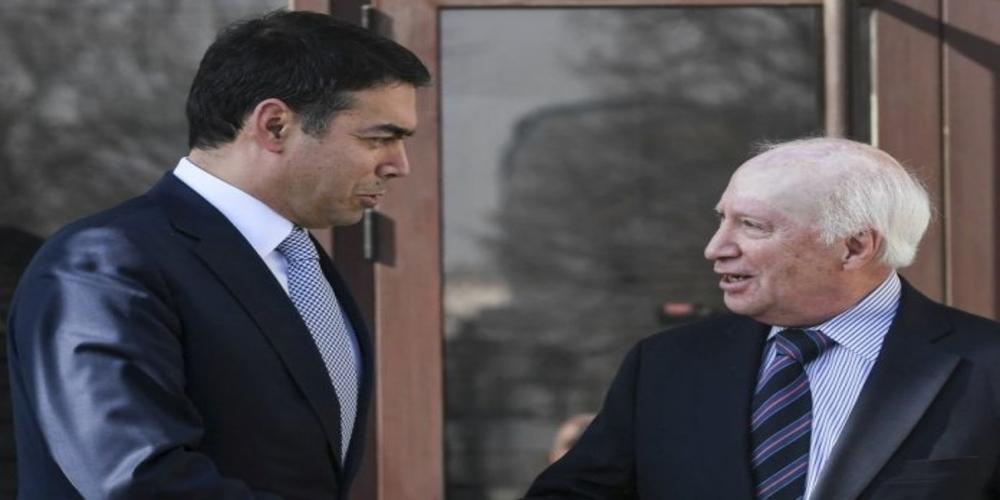 """Αμετανόητοι οι Σκοπιανοί. Ντιμιτρόφ: Είμαστε """"Μακεδόνες"""", μιλάμε """"μακεδονικά"""" και είναι δικαίωμα μας"""