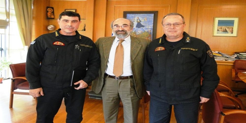 Πύραρχος έγινε ο Διοικητής της Πυροσβεστικής Υπηρεσίας Αλεξανδρούπολης Κωνσταντίνος Κούκουρας