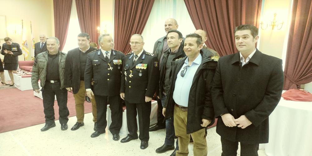 Ανέλαβε και επίσημα ο συμπατριώτης μας Σωτήρης Τερζούδης νέος Αρχηγός της Πυροσβεστικής