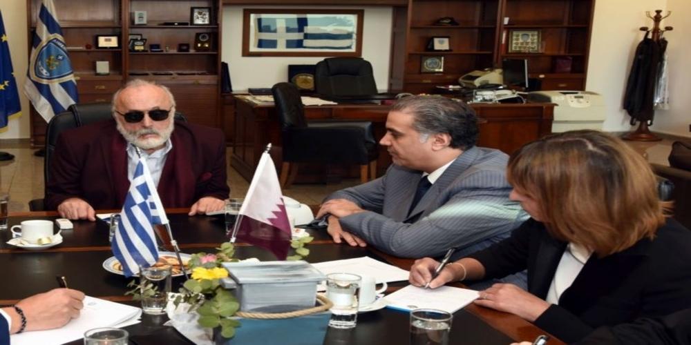 Καταριανό ενδιαφέρον για συνεργασία με τo λιμάνι Αλεξανδρούπολης