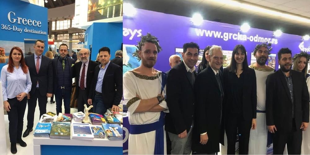 Αλεξανδρούπολη και Σαμοθράκη στη Διεθνή Έκθεση Τουρισμού στο Βελιγράδι