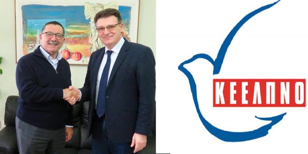 Αλεξανδρούπολη: Συνάντηση Πέτροβιτς με τον Πρόεδρο του ΚΕΕΛΠΝΟ Θεόφιλο Ρόζενμπεργκ