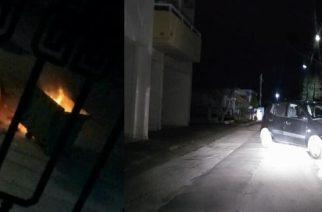 Ξεφτίλισαν το έθιμο, καίγοντας κάδους και προκαλώντας ζημιές σε αυτοκίνητα νεαροί στον Μαίστρο