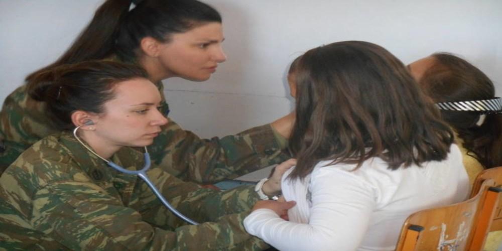 Σε Θεραπειό και Σπήλαιο το στρατιωτικό ιατρικό κλιμάκιο την ερχόμενη βδομάδα