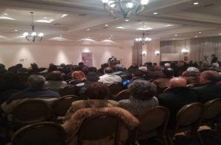 Πολύς κόσμος στην ομιλία του Κυριάκου Βελόπουλου και στην Αλεξανδρούπολη