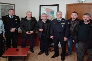 Συναντήσεις με αστυνομικούς, αλλά και οικογενειακές στιγμές χαλάρωσης για τον υπουργό Νίκο Τόσκα