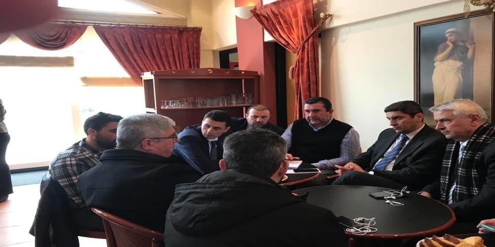 Συνάντηση Αυγενάκη με τευτλοπαραγωγούς και εργαζόμενους του εργοστασίου Ζάχαρης Ορεστιάδας