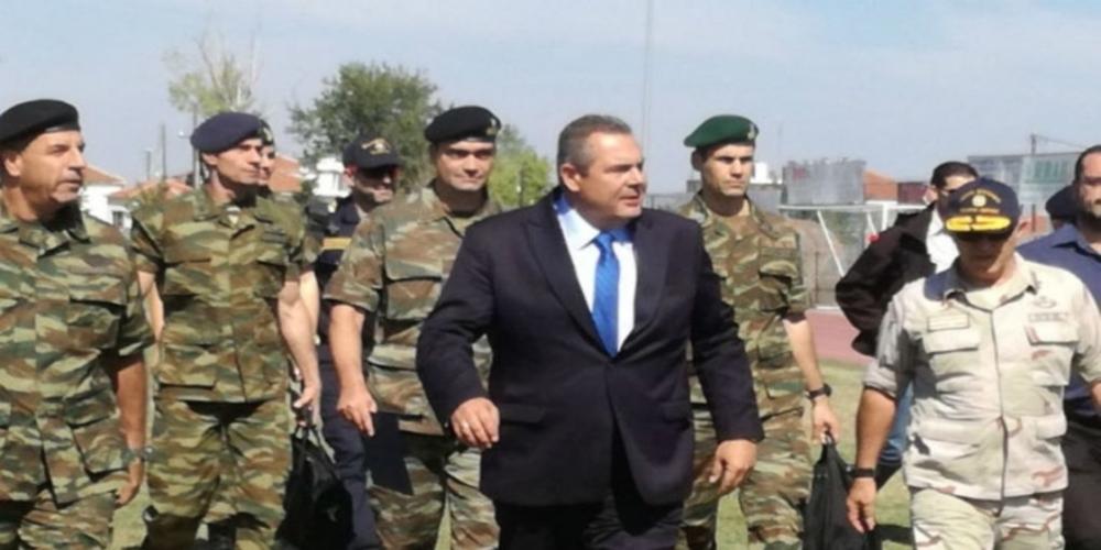 Καμμένος σε Liberation: Η Ελλάδα είναι πολύ κοντά σε δυστύχημα με την Τουρκία