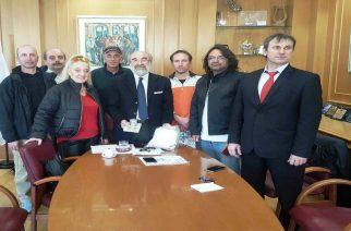 Συναντήσεις Δημάρχου Β.Λαμπάκη με την Λέσχη Μοτοσυκλετιστών Έβρου και την ομάδα ποδοσφαίρου Δ.Α. Αλεξανδρούπολης