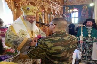 """Άνθιμος Αλεξανδρουπόλεως: """"Δεν φοβόμαστε τίποτα. Έχουμε εμπιστοσύνη στον στρατό"""""""