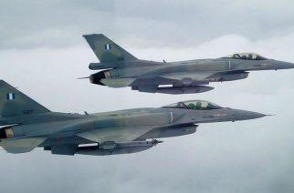 Ελληνικά F-16 πέταξαν το πρωί της Παρασκευής πάνω απ' την Αλεξανδρούπολη, αλλά λόγω άσκησης