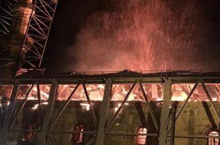 Μαύρη επέτειος σήμερα απ' την περσινή καταστροφική πυρκαγιά στο τέμενος Βαγιαζήτ