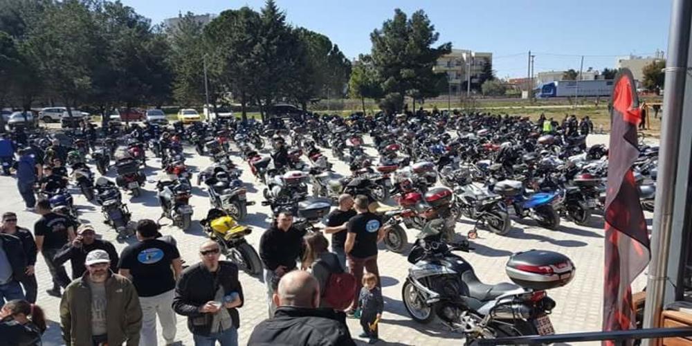 Γέμισε μοτοσυκλέτες η Αλεξανδρούπολη στην κοπή πίτας του Moto Club Alexandroupolis (video+φωτό)