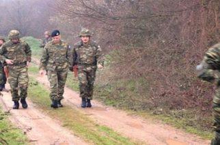 Την περιοχή που συνελήφθησαν οι δυο στρατιωτικοί επισκέφθκε ο αρχηγός ΓΕΣ Αλκιβιάδης Στεφανής