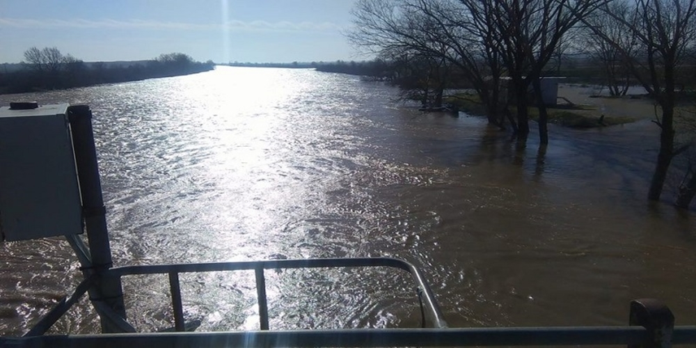 Αυξημένη επιφυλακή κήρυξε ο Πέτροβιτς λόγω αύξησης στάθμης των νερών σε Έβρο, Άρδα, Ερυθροπόταμο