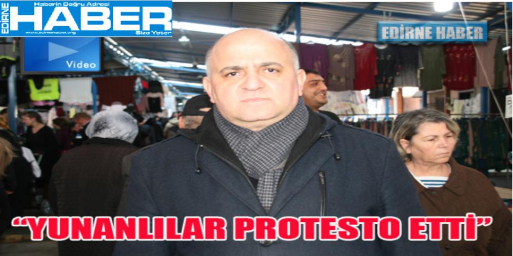 """""""Έτσουξε"""" τους Τούρκους: """"Οι Έλληνες δεν ήρθαν στην αγορά της Αδριανούπολης""""(video)"""